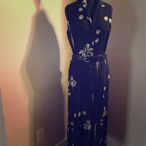 Ellen Tracy Linda Allard Maxi Silk Dress (Size 10)